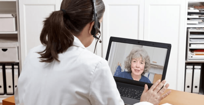 Medical consultations using Zoom